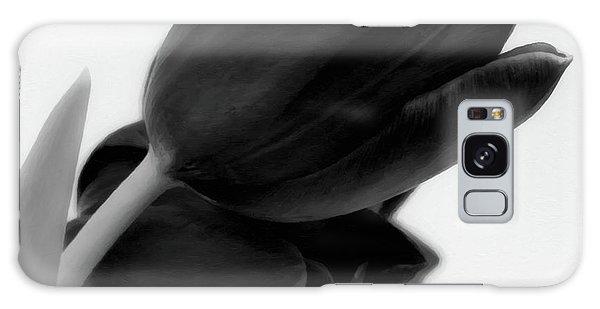 Black Tulips Galaxy Case