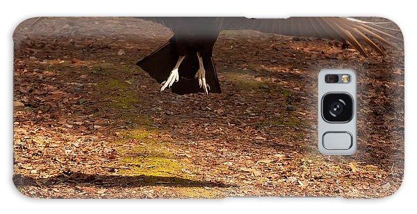 Black Vulture Landing Galaxy Case by Chris Flees