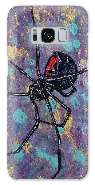 Halloween Galaxy Case - Black Widow by Michael Creese