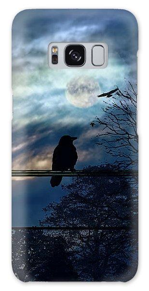 Blackbird And Moonlight Serenade Galaxy Case