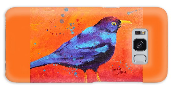 Blackbird II Galaxy Case by Nancy Jolley