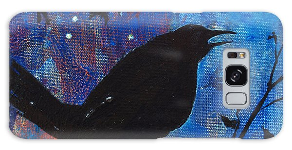 Blackbird Singing Galaxy Case