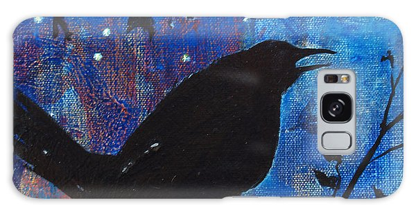 Blackbird Singing Galaxy Case