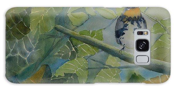 Blackburnian Warbler I Galaxy Case