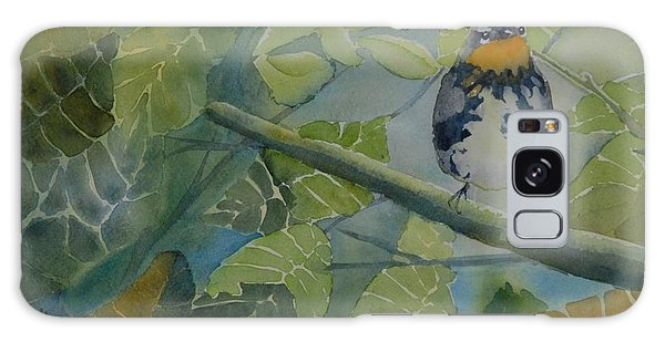 Blackburnian Warbler I Galaxy Case