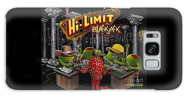 Martini Galaxy S8 Case - Blackjack Pimps by Michael Godard
