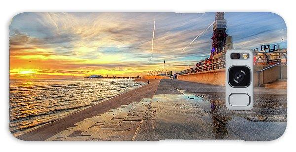 Blackpool Sunset Galaxy Case by Yhun Suarez