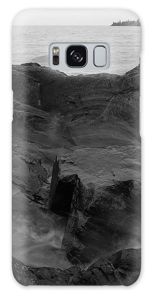 Galaxy Case featuring the photograph Blackrock Lighthouse by Dylan Punke