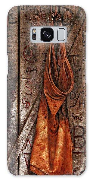 Blacksmith Apron Galaxy Case by Rowana Ray