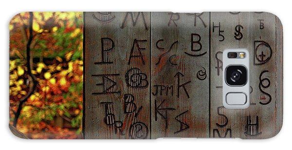 Blacksmith Board Galaxy Case by Rowana Ray