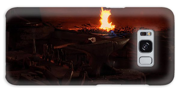 Blacksmith Shop Galaxy Case by Chris Flees