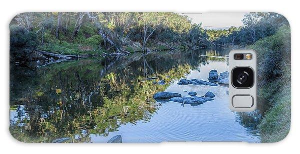 Blackwood River Rocks, Bridgetown, Western Australia Galaxy Case