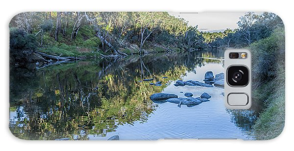 Blackwood River Rocks, Bridgetown, Western Australia Galaxy Case
