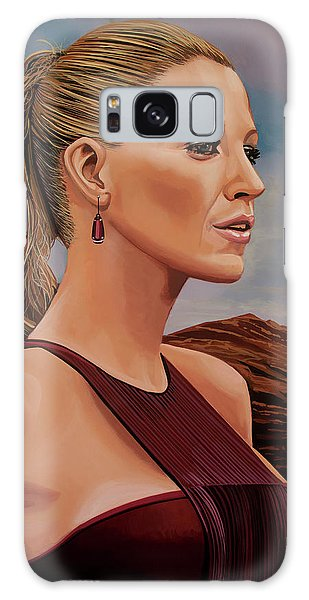 Blake Lively Painting Galaxy Case by Paul Meijering