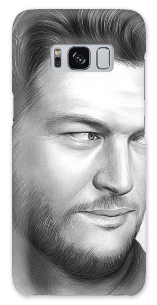 Blake Shelton Galaxy Case by Greg Joens
