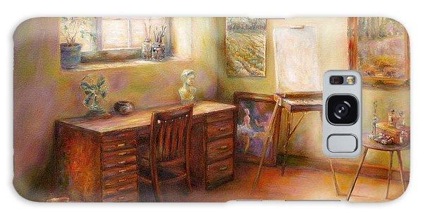 Blank Canvas Galaxy Case by Bonnie Goedecke