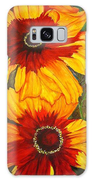 Blanket Flower Galaxy Case by Lil Taylor
