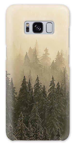 Blanket Of Back-lit Fog Galaxy Case by Dustin LeFevre
