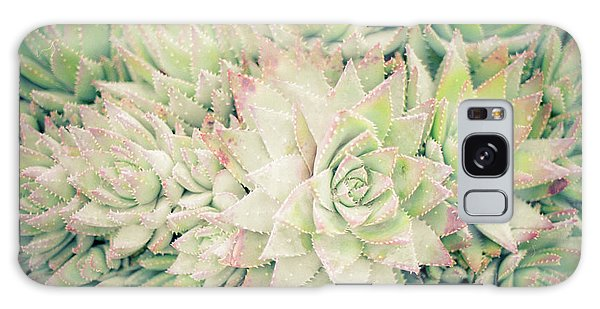 Blanket Of Succulents Galaxy Case