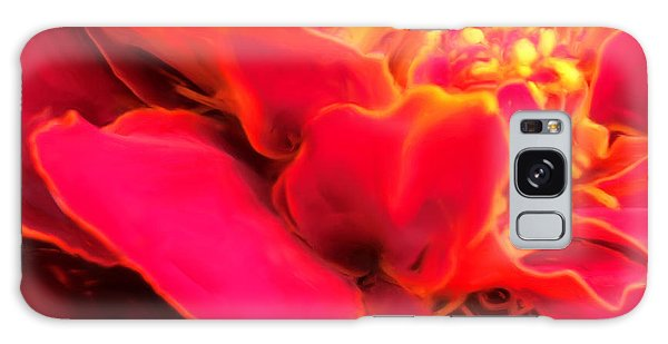 Blazing Pink Marigold Galaxy Case