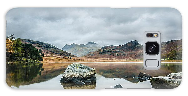 Blea Tarn In Cumbria Galaxy Case