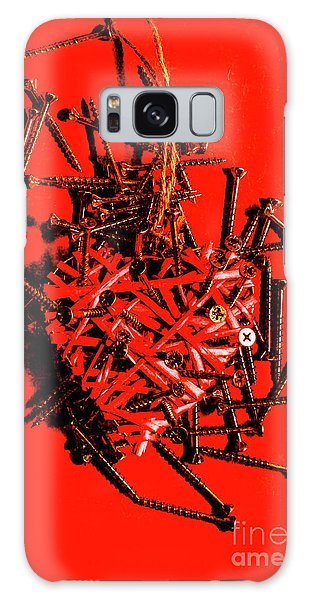 Metal Galaxy Case - Bleeding Hearts by Jorgo Photography - Wall Art Gallery