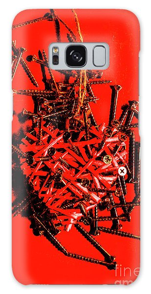 Heartache Galaxy Case - Bleeding Hearts by Jorgo Photography - Wall Art Gallery