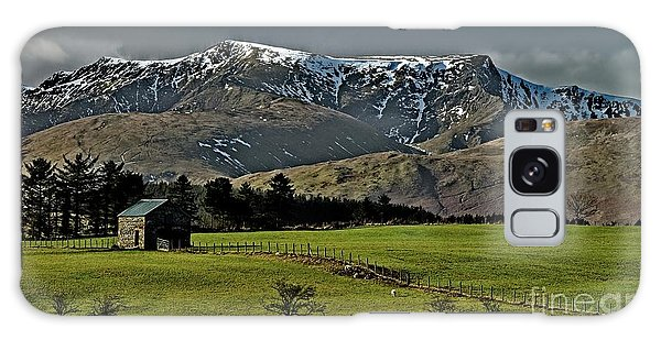 Blencathra Mountain, Lake District Galaxy Case