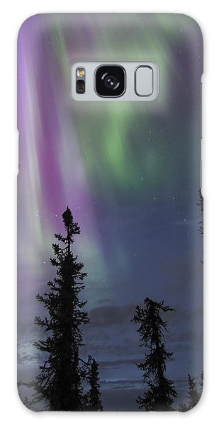 Blended With Green Galaxy Case