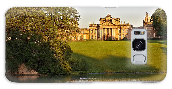 Blenheim Palace And Lake Galaxy Case