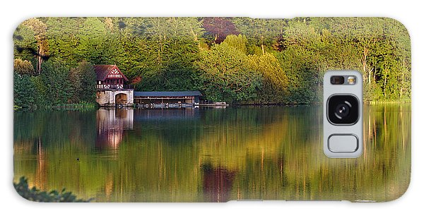 Blenheim Palace Boathouse 2 Galaxy Case