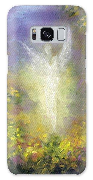 Blessing Angel Galaxy Case by Marina Petro