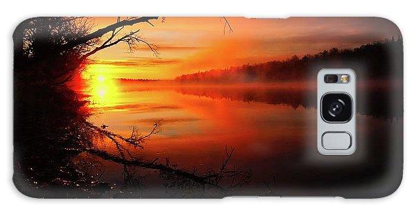 Blind River Sunrise Galaxy Case