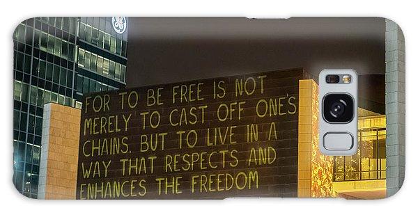 Blink Cincinnati - Freedom Center Galaxy Case