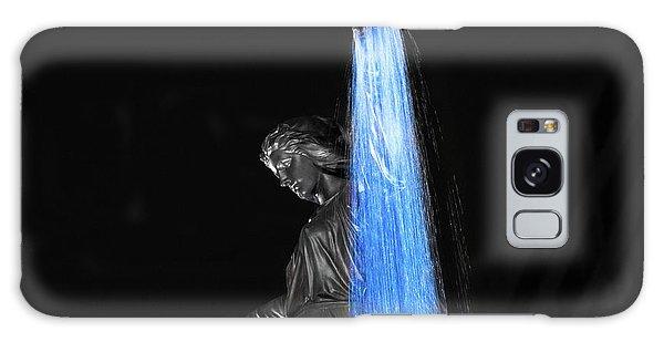 Blink Cincinnati - Tyler Davidson Fountain On Fountain Square Galaxy Case