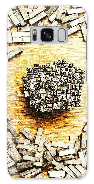 Industry Galaxy Case - Block Of Communication by Jorgo Photography - Wall Art Gallery