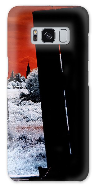 Blood And Moon Galaxy Case