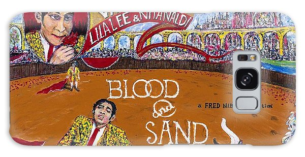 Blood And Sand - 1922 Lobby Card That Never Was Galaxy Case