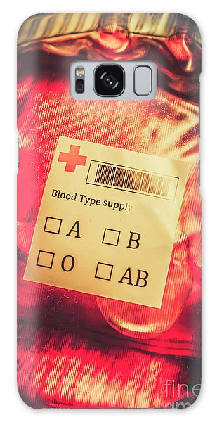 Zombies Galaxy Case - Blood Donation Bag by Jorgo Photography - Wall Art Gallery