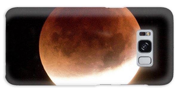 Blood Moon Eclipse Galaxy Case