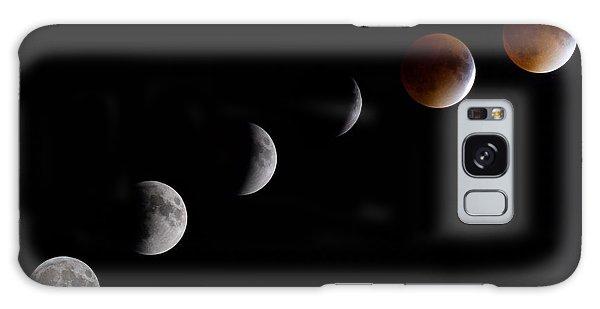 Blood Moon Lunar Eclipse Galaxy Case