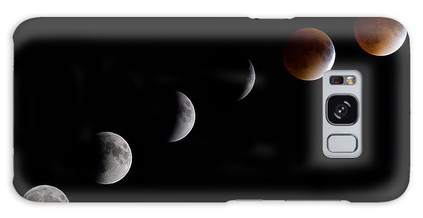 Blood Moon Lunar Eclipse Galaxy Case