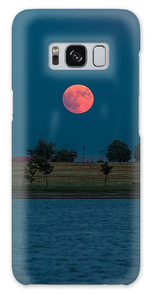 Blood Moon Rising Galaxy Case