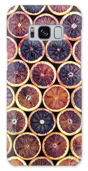 Autumn Galaxy S8 Case - Blood Oranges Pattern by Tim Gainey