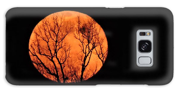 Blood Red Moon Galaxy Case
