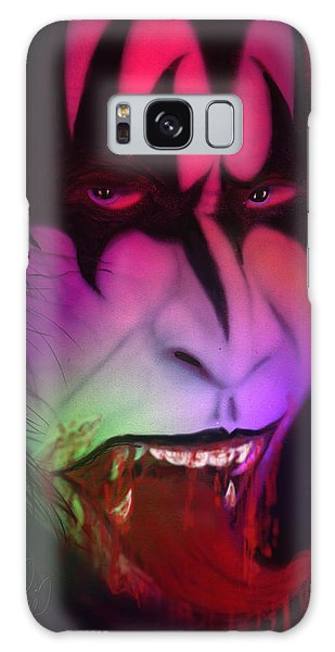 Bloody Demon Galaxy Case by Kevin Caudill