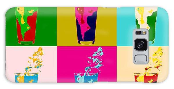 Bloody Mary Pop Art Panels Galaxy S8 Case