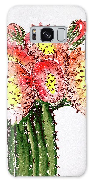 Blooming Cactus Galaxy Case