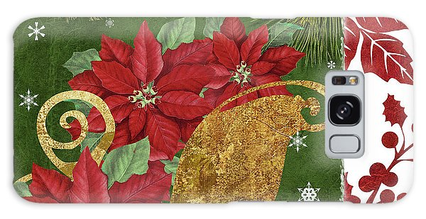 Amaryllis Galaxy Case - Blooming Christmas I by Mindy Sommers