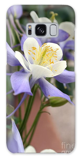 Blooming Columbine Galaxy Case by Andrew Serff
